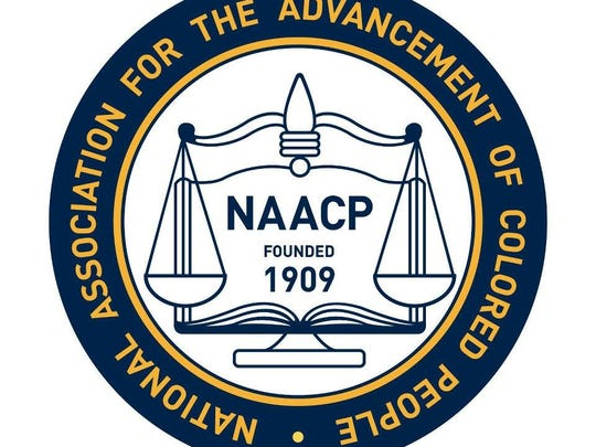 The NAACP logo.