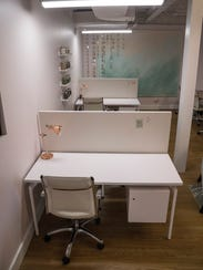 Women can choose to have their own desk at Pastel.