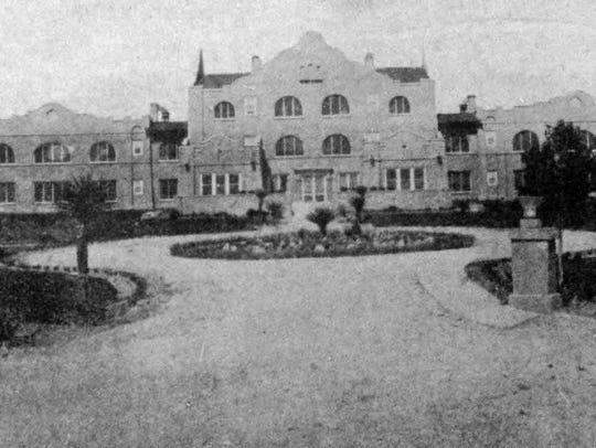 The Hendricks-Laws Sanatorium, in Central El Paso,