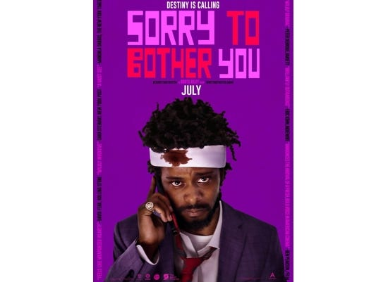 """Join the Asheville Movie Guys for a movie screening of """"Sorry to Bother You"""" at the Fine Arts Theatre, July 16 at 7:20 pm."""