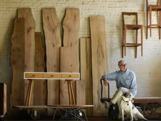 David Polivka, a master furniture maker, began his