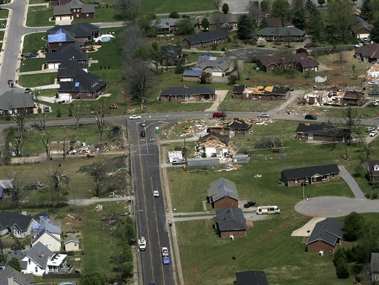 Good Friday tornado of 2009 tore through parts of Murfreesboro.