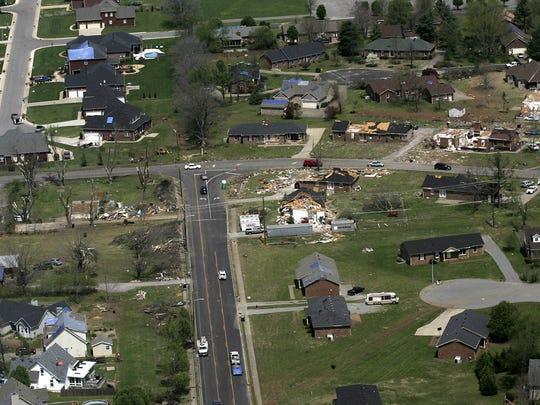 Good Friday tornado of 2009 tore through parts of Murfreesboro.
