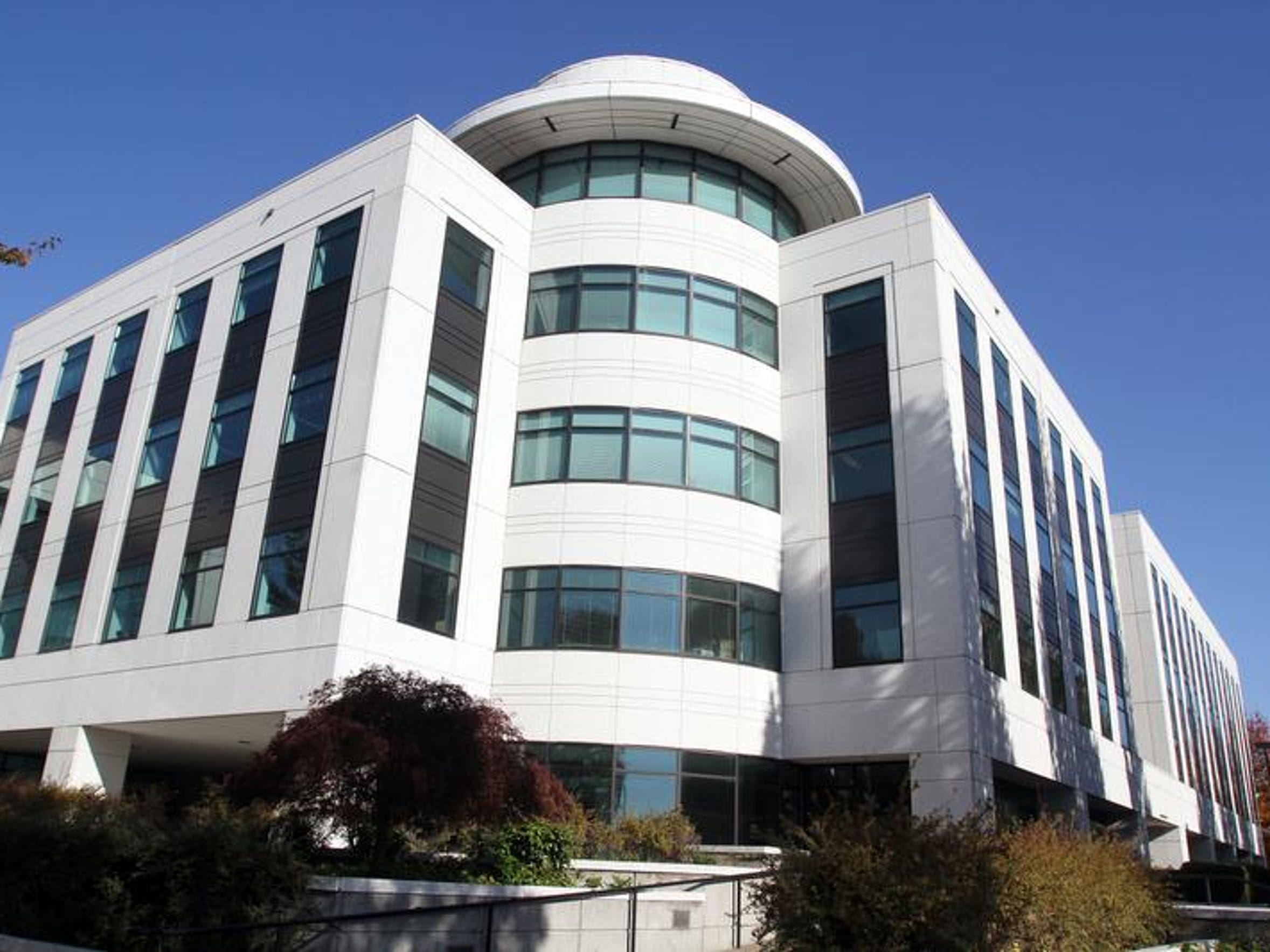 The Oregon Department of Human Services building in