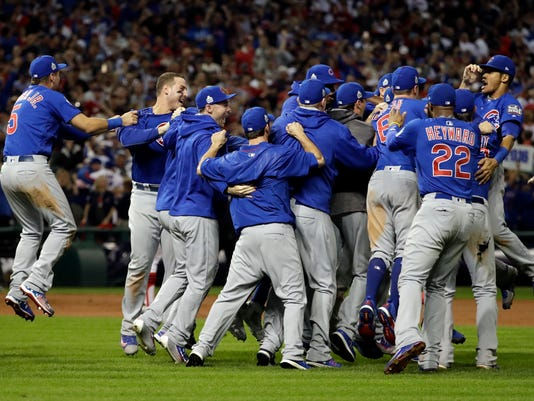 Cubs vs. Indians Game 7 World Series