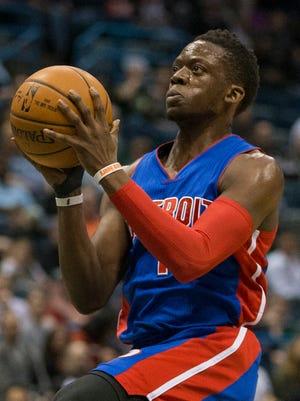 Detroit Pistons' Reggie Jackson.