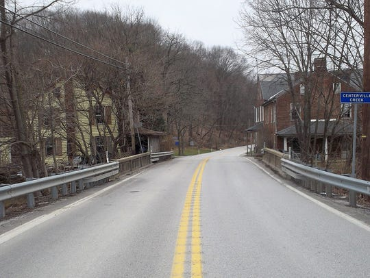 The Route 616 bridge in Shrewsbury Township will be