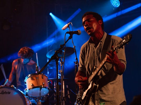 Benjamin Booker performs at the Other Tent at the 2015 Bonnaroo Music and Arts Festival in Manchester, Tenn., June 11, 2015.