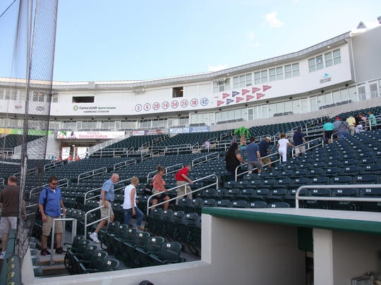Hammond Stadium is hosting a celebrity bartender contest