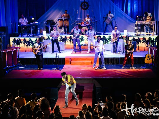 Herencia de Timbiquí is slated to bring its energetic performance to Bonita Springs on Saturday.