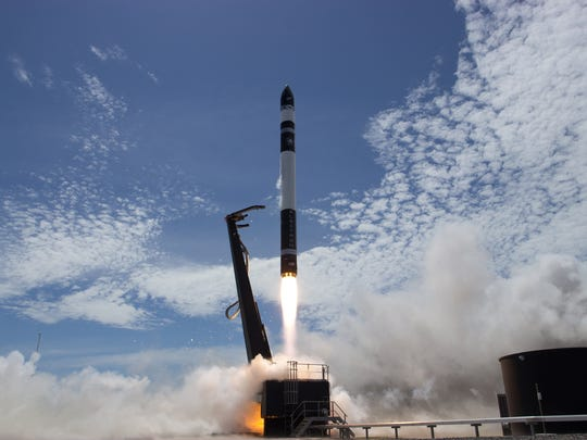 On Jan. 21, 2018, Rocket Lab's Electron small satellite launcher lifted off from New Zealand to begin a successful orbital test flight.