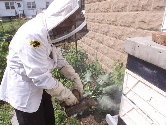 Paterson Beekeeper Tom Fuscaldo