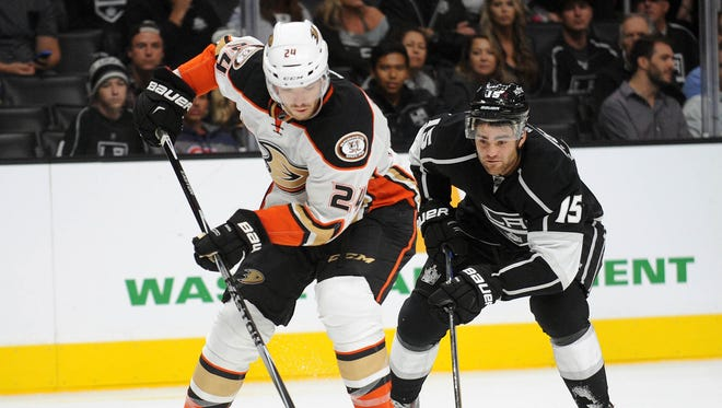 Anaheim Ducks defenseman Simon Despres had 23 points last season.