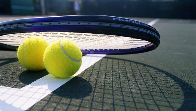 The North Central boys tennis team won a regional crown on Wednesday.