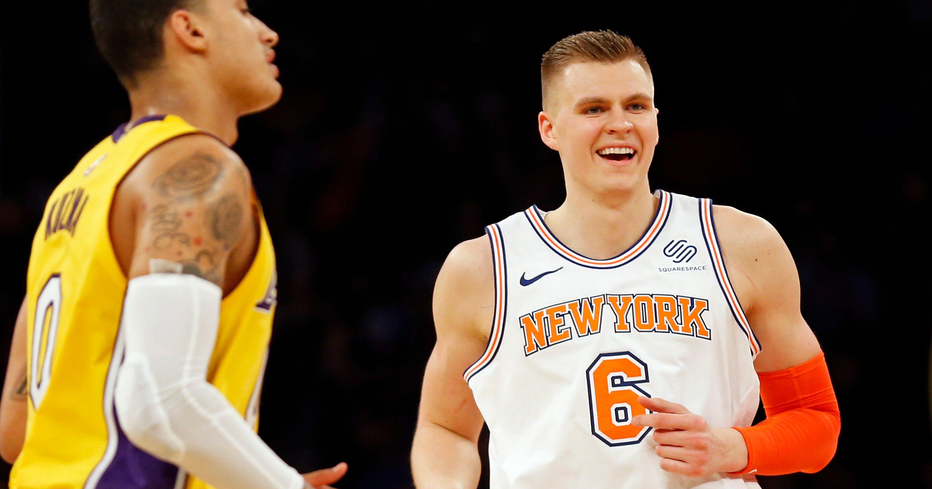 41a277de754 How Knicks  Kristaps Porzingis became a unicorn
