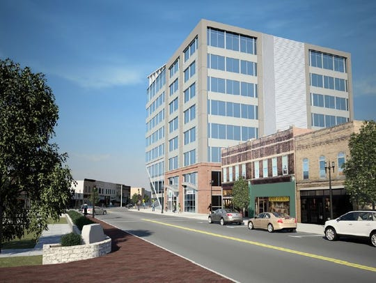 Menasha officials are working with a group of developers
