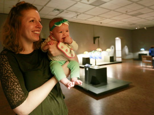 Erin Mattila and her 4-month-old daughter Isabelle
