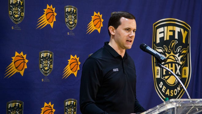 Ryan McDonough said the Suns are willing to listen to offers but are inclined to keep the pick.