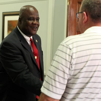 Hattiesburg police chief nominee Anthony L. Parker,