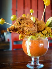 "Party Fowl's ""Brunch for Two"" is a 55-ounce bloody"