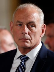 White House Chief of Staff John Kelly, former secretary of the Department of Homeland Security, is behind an order issued Aug. 1, 2017, to waive 37 environmental laws and regulations to build prototypes of a U.S.-Mexico border wall, environmental groups say.