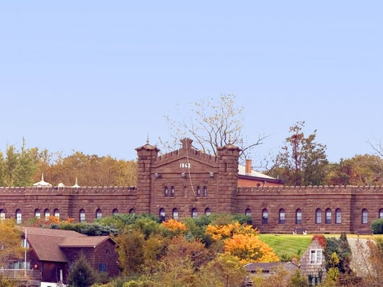 Twin Lights in Highlands exemplifies the many beautiful buildings made from brownstone, the unofficial state rock of New Jersey.