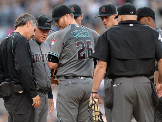 MLB: Arizona Diamondbacks at San Diego Padres