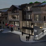 A rendering of the new W Hotel in Aspen.