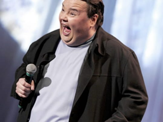 Comedian John Pinette will perform a stand-up routine Friday at the Strand-Capitol Performing Arts Center in York. Pinette s new comedy special,  Still Hungry,  will air next month.