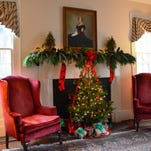 O Tannenbaum welcomes Christmas at historic home