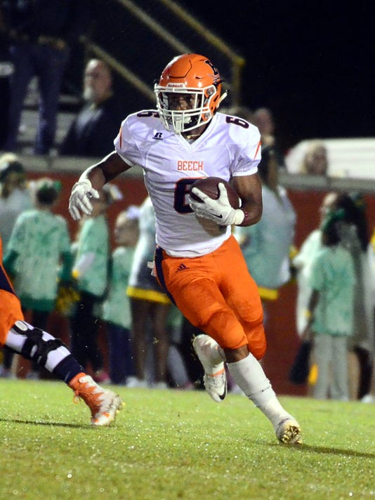 Beech Senior Alex Vanzant Has Rushed For 983 Yards And 10 Touchdowns The Buccaneers This Season Photo Chris Brooks Gallatin News Examiner