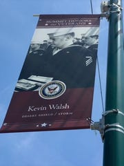 Veteran Kevin Walsh has been named one of Summit's