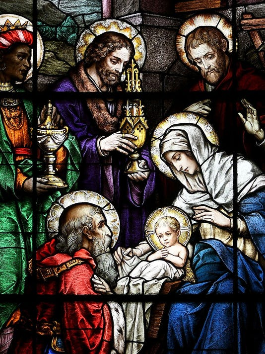 Nativity vertical