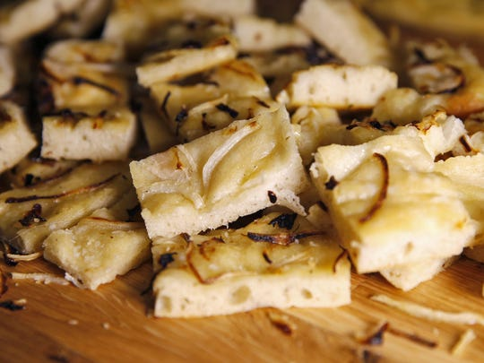 Caramelized Onion Focaccia from Leoni's Focaccia from