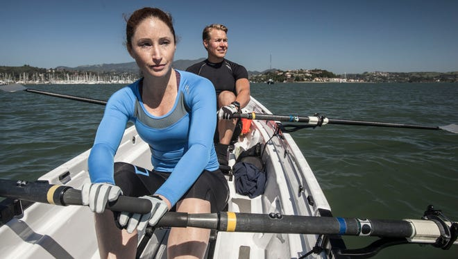 Sami Inkinen, 38, co-founder of the real estate-focused Web site Trulia.com, and wife Meredith Loring, 34, train on the San Francisco Bay.   Inkinen and Loring are preparing for an epic solo row - in a small boat - from San Francisco to Hawaii to raise awareness about eating habits, specifically the evils of sugar and processed carbohydrates.