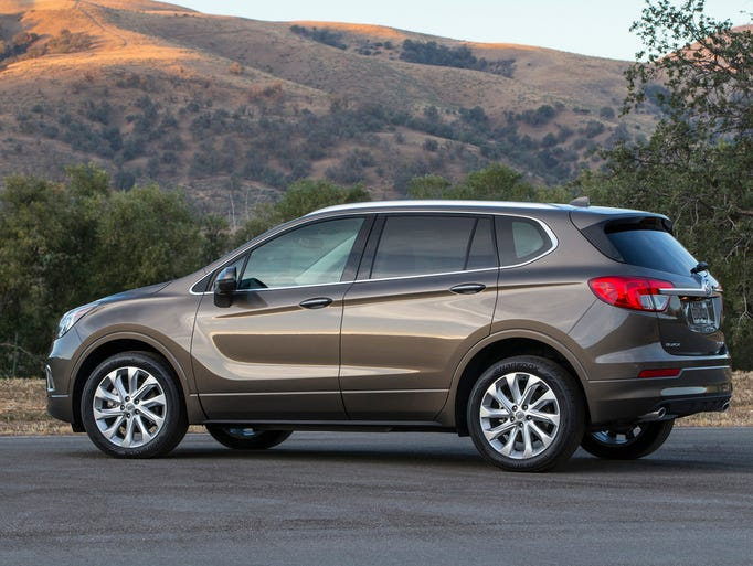 buick envision fills gap in its suv lineup. Black Bedroom Furniture Sets. Home Design Ideas
