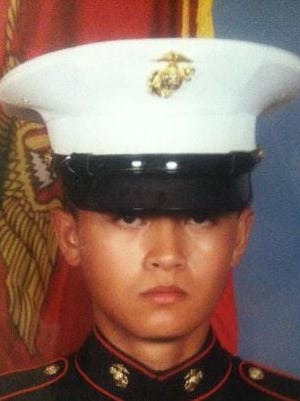 Marine Cpl. Allan DeVillena II.