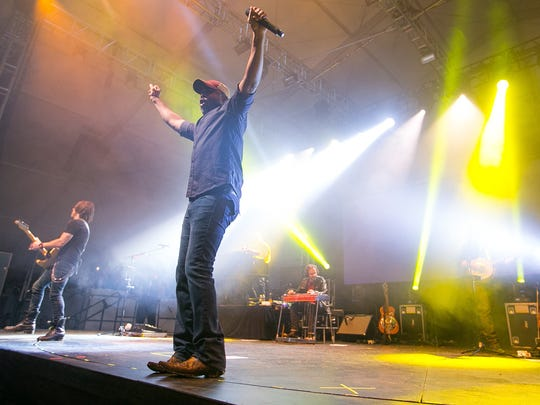 Darius Rucker performed his solo act at the Coors Light Birds Nest at the Waste Management Phoenix Open in Scottsdale in 2015.