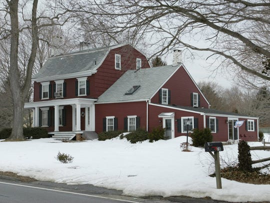 """The """"Penelope Stout House"""" in Holmdel, before it was"""