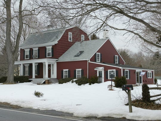 "The ""Penelope Stout House"" in Holmdel, before it was razed in 2006."