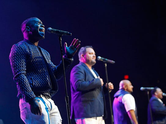 All-4-One perform as part of the I Love the 90's -