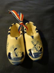 Dutch shoes ornament purchased in Amsterdam.