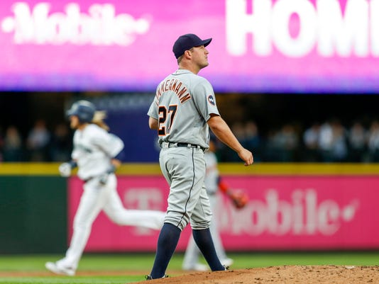 MLB: Detroit Tigers at Seattle Mariners