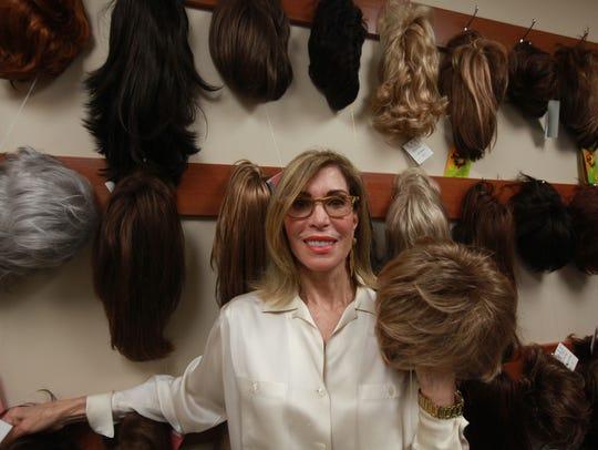 Marlene Rosenberg, 70, of Bloomfield Hills, styles