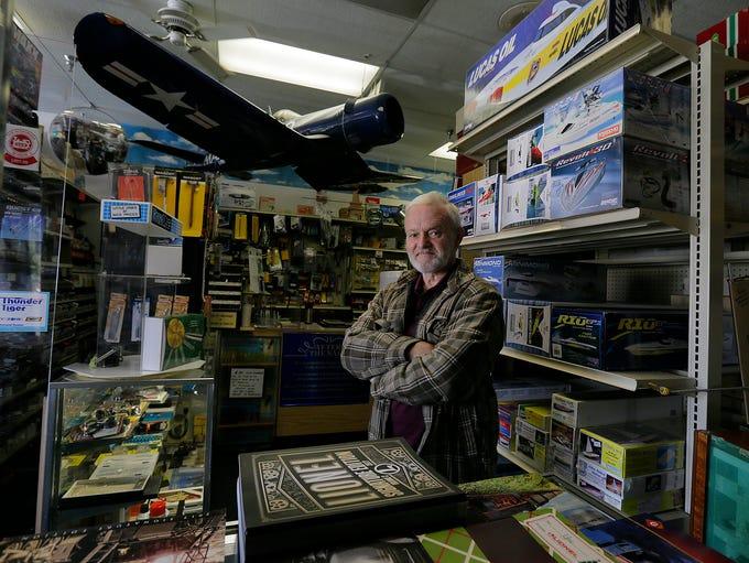 Frank Gustafson, owner of Jackson Hobby Shop, talks