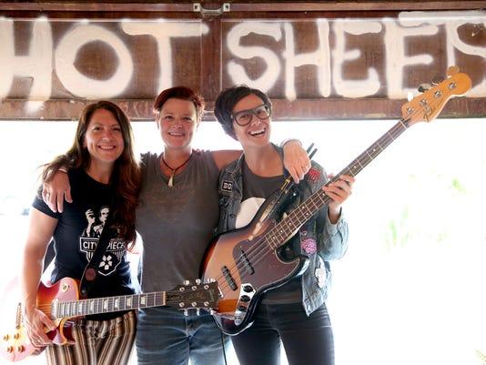 Hot Sheets, local Salem band