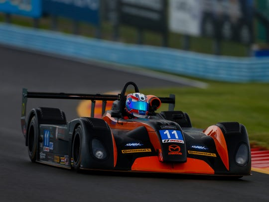 Dr. Robert Masson competes at Watkins Glen last year.