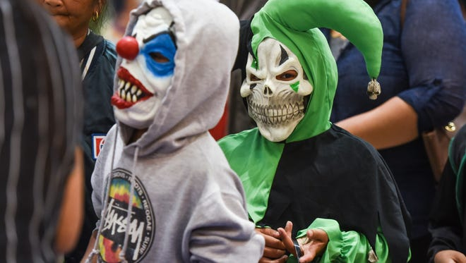 """The rainy weather was not a factor for trick-or-treaters of all ages during the indoor """"Spooktacular Halloween at the Center"""" event at the Agana Shopping Center on Monday, Oct. 31."""