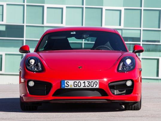 2014 Porsche Cayman S front