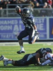 Vai Taua rushed for the second most yards in school history and scored the fourth most touchdowns during his time at Nevada.